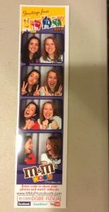 Amanda and comp at M&M world May 2015